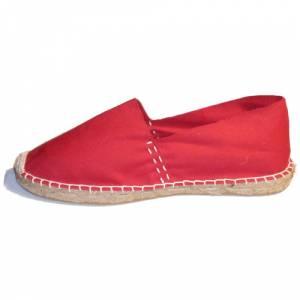 Rojo - Alpargata Espa�ola Ni�o Rojo Talla 28