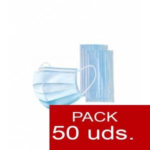 Imagen .ESPECIAL COVID19 Caja de 50 Mascarillas Quirurgicas 3 capas- ALTA PROTECCIÓN